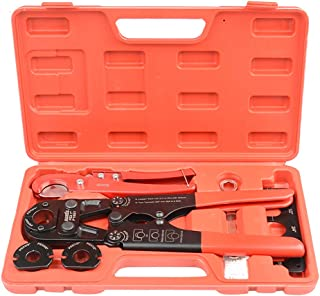 IWISS PEX Pipe Crimping Tool Kit with Cutter Suits