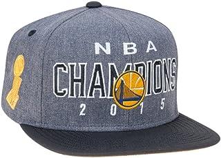 Best adidas Golden State Warriors 2015 NBA Finals Champions Locker Room Snapback Hat - Gray/Black Review