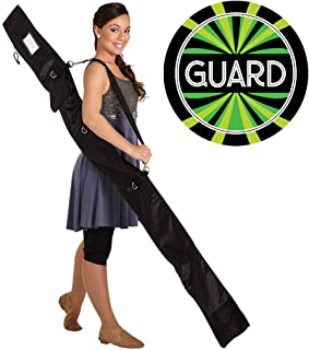 DSI Color Guard Personal Flag Pole, Rifle, Sabre Equipment Bag (New Version) and Decal Bundle