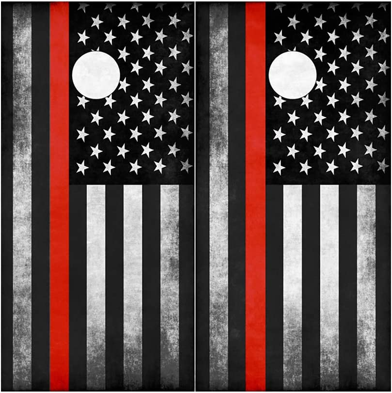 Decals N Designs Portland Mall Red Line Cornho Subdued Flag American Courier shipping free shipping Laminated