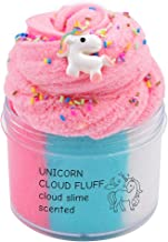 EASYCITY Fairy Putty Fluffy Unicorn Cloud Slime, Fluffy Floam Slime Stress Relief Toy Scented Sludge Toy for Kids and Adults 200ML (8oz)
