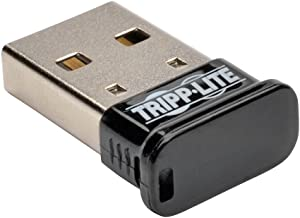 Tripp Lite Mini Bluetooth USB Adapter 4.0 (Class 1), Up to 164ft Range, 7 Devices (U261-001-BT4)