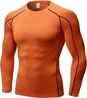 Mens & Boys Super Thermal Compression Base Layer Top Long Sleeve Under Shirt,Men's Boy's Total Compression Fast Dry Base L...