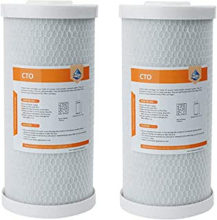 5 Micron Big Blue Carbon Block Water Filter Cartridge, 10