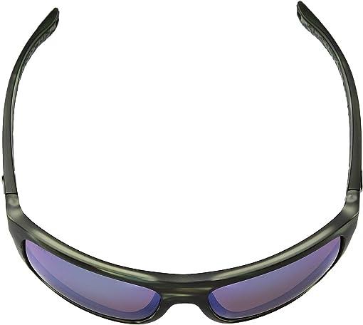 Costa Broadbill Matte Reef-Green Mirror 580P Poly Polarized Lens Sunglasses