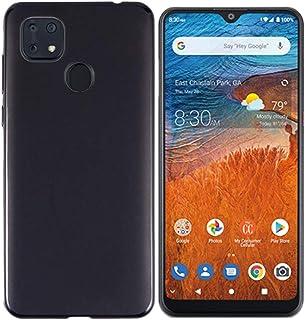 Tznzxm Case for ZTE ZMax 10, ZTE Z6250 Back Case,Consumer Cellular ZMax 10 Case, Flexible Soft TPU Scratch Resistant Non-Slip Shock Absorption Back Cover Rubber Slim Phone Case for ZTE Z6250 Black
