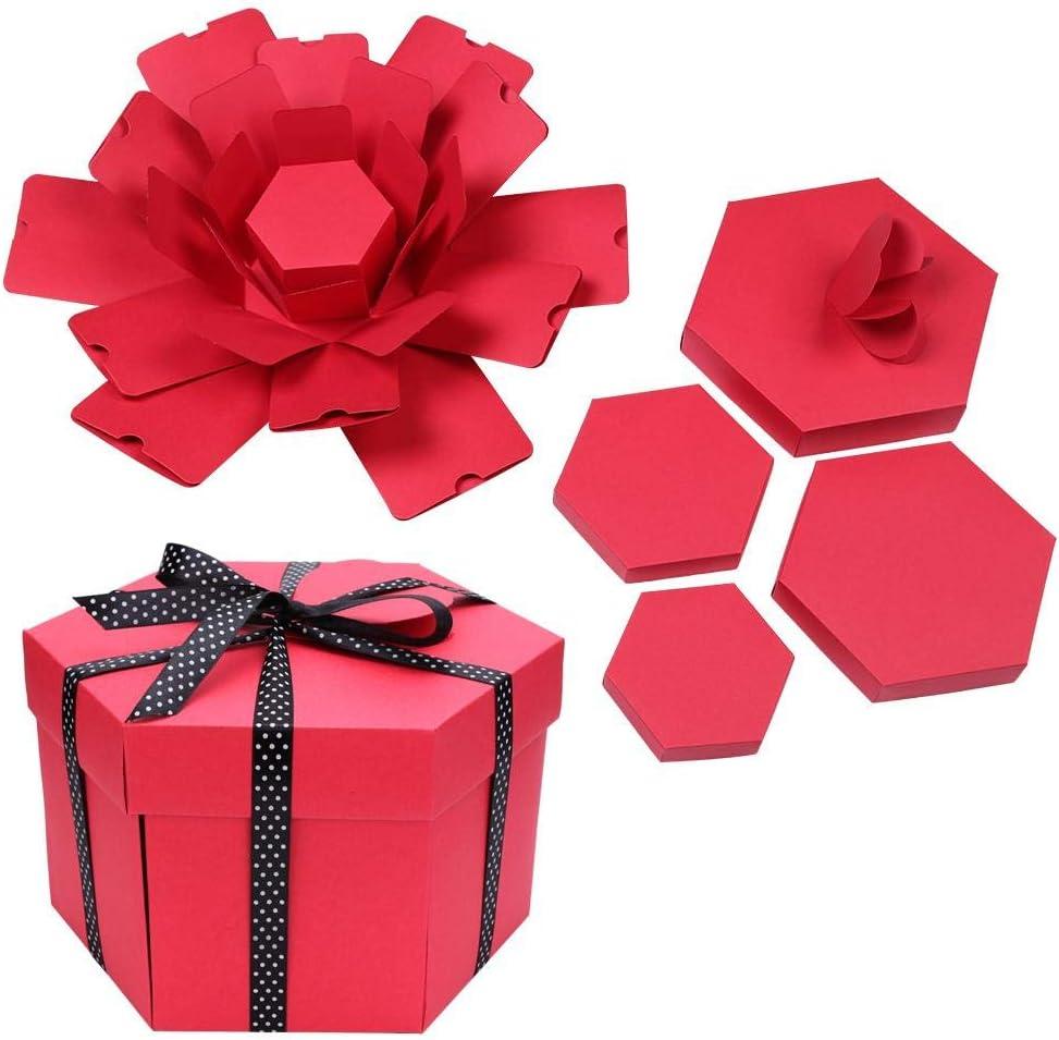 winner Eco Explosion shop Popularity Box Set Creative DIY Hexagonal Surprise Ph