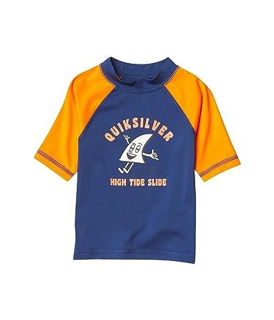 Quiksilver Kids Bubble Trouble Short Sleeve Rashguard (Toddler/Little Kids)