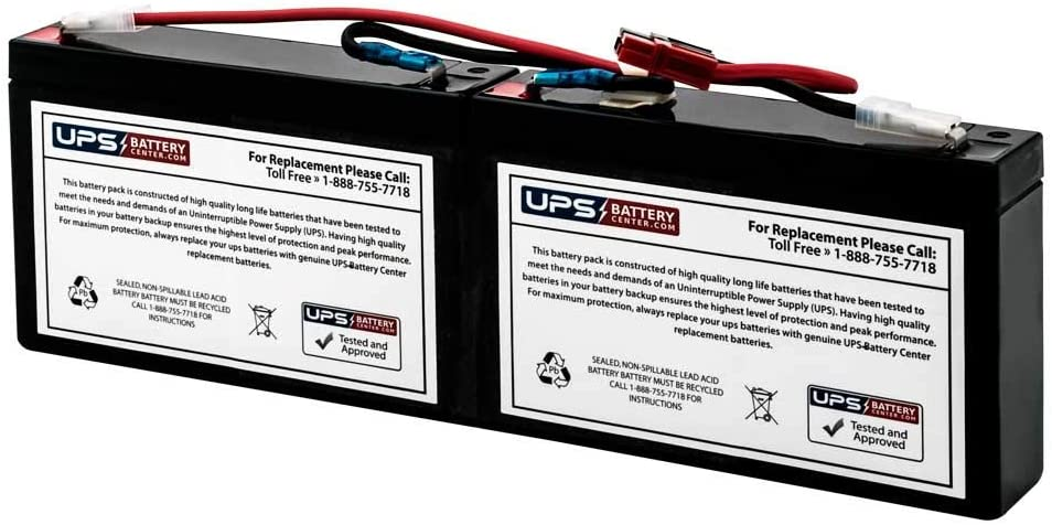 APC RBC18 Compatible Replacement Battery Pack by UPSBatteryCenter