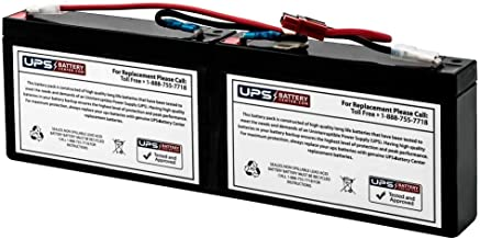 APC Smart-UPS 450VA Rack Mount 1U (SC450RM1U) Compatible Replacement Battery Pack by UPSBatteryCenter