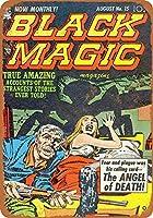 2個 20*30CMメタルサイン-ブラックマジックコミック4