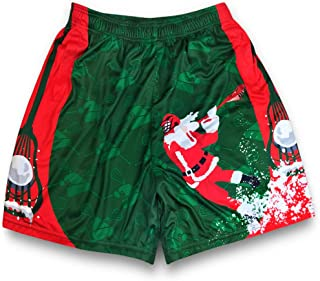 Premium Holiday Lacrosse Athletic Shorts | Various Designs & Sizes