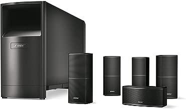 Bose Acoustimass 10 Series V Home Theater Speaker System (Black) (720962-1100) (Certified Refurbished)