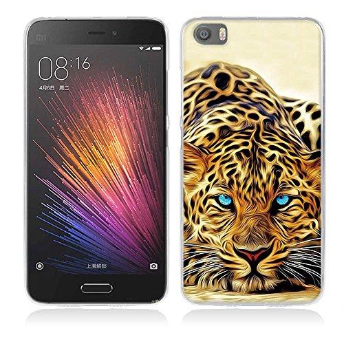 FUBAODA für Xiaomi Mi5 Hülle, Cartoon Owl Tigger Lion Künstlerische Malerei-Reihe TPU Hülle Schutzhülle Silikon Hülle für Xiaomi Mi5