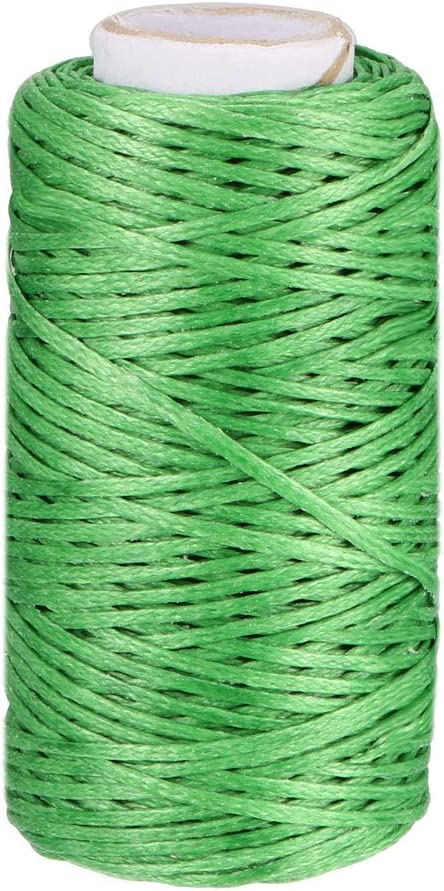 uxcell Max 49% OFF 55 Yards 150D Raleigh Mall 1mm Ha Waxed Sewing Thread Leather