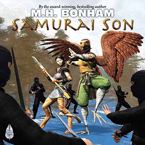 Samurai Son audiobook cover art