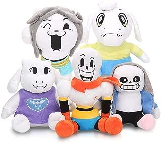 LevinArt 2pcs 30cm Anime Undertale Plush Toys Undertale Sans Papyrus Asriel Toriel Stuffed Plush Toys Doll for Kids Children Gift