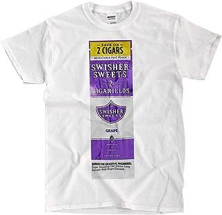 Swisher Sweets Grape - White T-Shirt