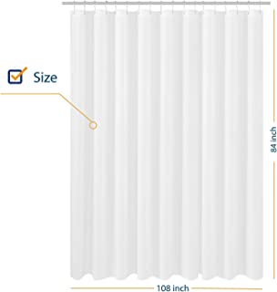 Best extra wide extra long shower curtain Reviews