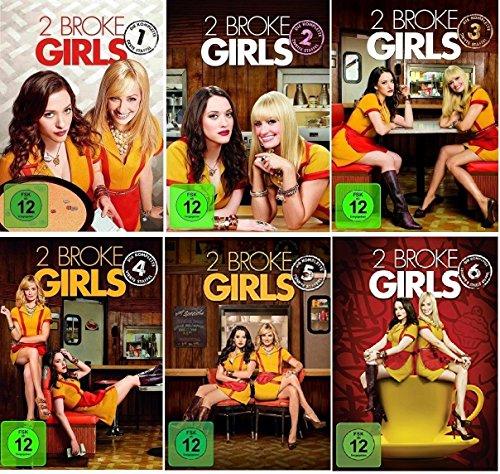 2 Broke Girls Staffel 1-6 (1+2+3+4+5+6) [DVD Set]