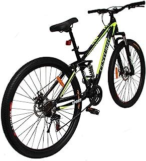 CENTURFIT Bicicleta Aluminio R29 21 Velocidades Amarilla Shi