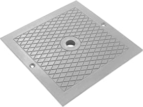 Custom Molded Products Skimmer Cover Square Gray