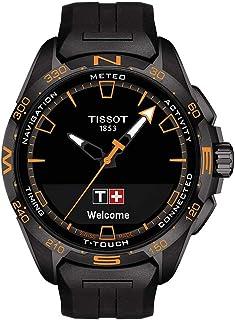 Tissot - orologio T-Touch Connect Solar 47,5mm Nero quarzo Titanio finitura PVD Nero T121.420.47.051.04