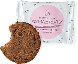 CompletEats- Soft Vegan Cookie (12 Cookies) (Cherry Almond)