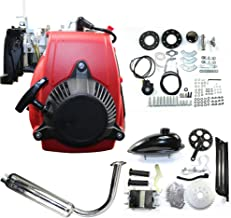 49CC 4-Stroke Gas Petrol Motorized Bike DIY Engine Motor Kit Scooter+Chain Drive Bicycle Scooter Conversion kit (without belt)