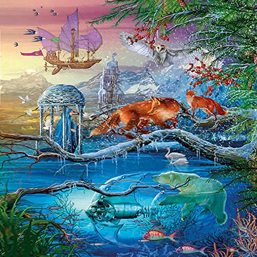 """Jigsaw Puzzle for Adults 1000 Piece 30""""X 20"""" Marine Life Kids Large Puzzle Game Toys Gift Halloween Christmas Xmas Home Decoration"""