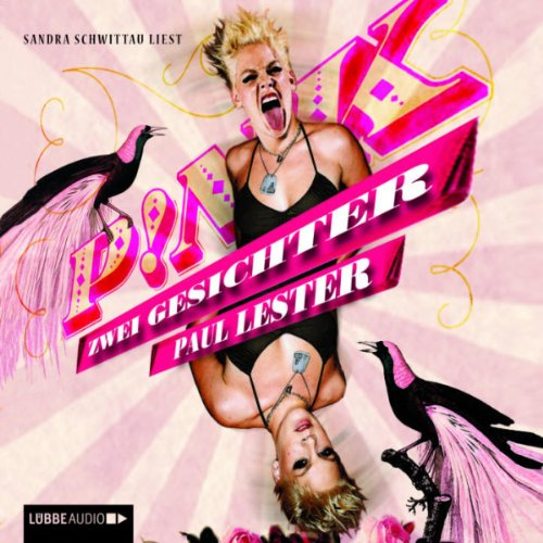 PINK audiobook cover art