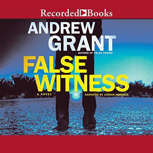 False Witness audiobook cover art