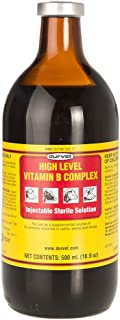 Durvet 063404 High Level Vitamin B Complex Yellow.500Ml