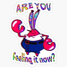 are You Feeling it Now Mr Krabs? Stickers (3 Pcs/Pack)
