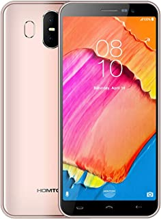 MDY AYSMG S17, 2GB+16GB, Dual Back Cameras, Face ID & Fingerprint Identification, 5.5 inch Android 8.1 MTK6580 Quad Core up to 1.3GHz, Network: 3G, Dual SIM, OTA(Dark Gray) MDYH (Color : Gold)
