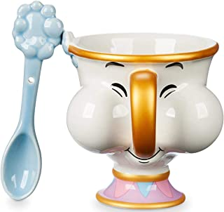 Chip Teacup and Spoon Set - Beauty and the Beast