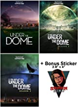 Under the Dome: Complete TV Series Seasons 1-3 Collection with Bonus Sticker - Based on Book By Stephen King