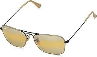 750a001ee8 Ray-Ban 0RB3136 Gafas de sol, Black On Top Matte Beige, 54 para