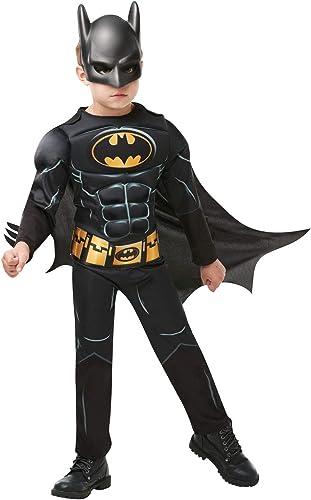 Rubie's - Déguisement officiel Batman - Taille 5-6 ans - I-300002M