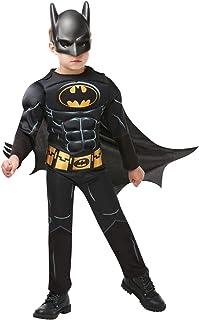 Rubies - Disfraz de Batman Deluxe para niño, 3-4 años (Rubies 300002-S)
