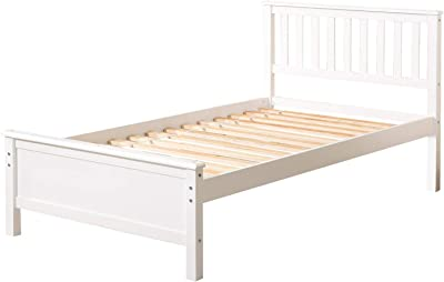 White King 2 Boxes Amani International 5 ft Derby Bed pine