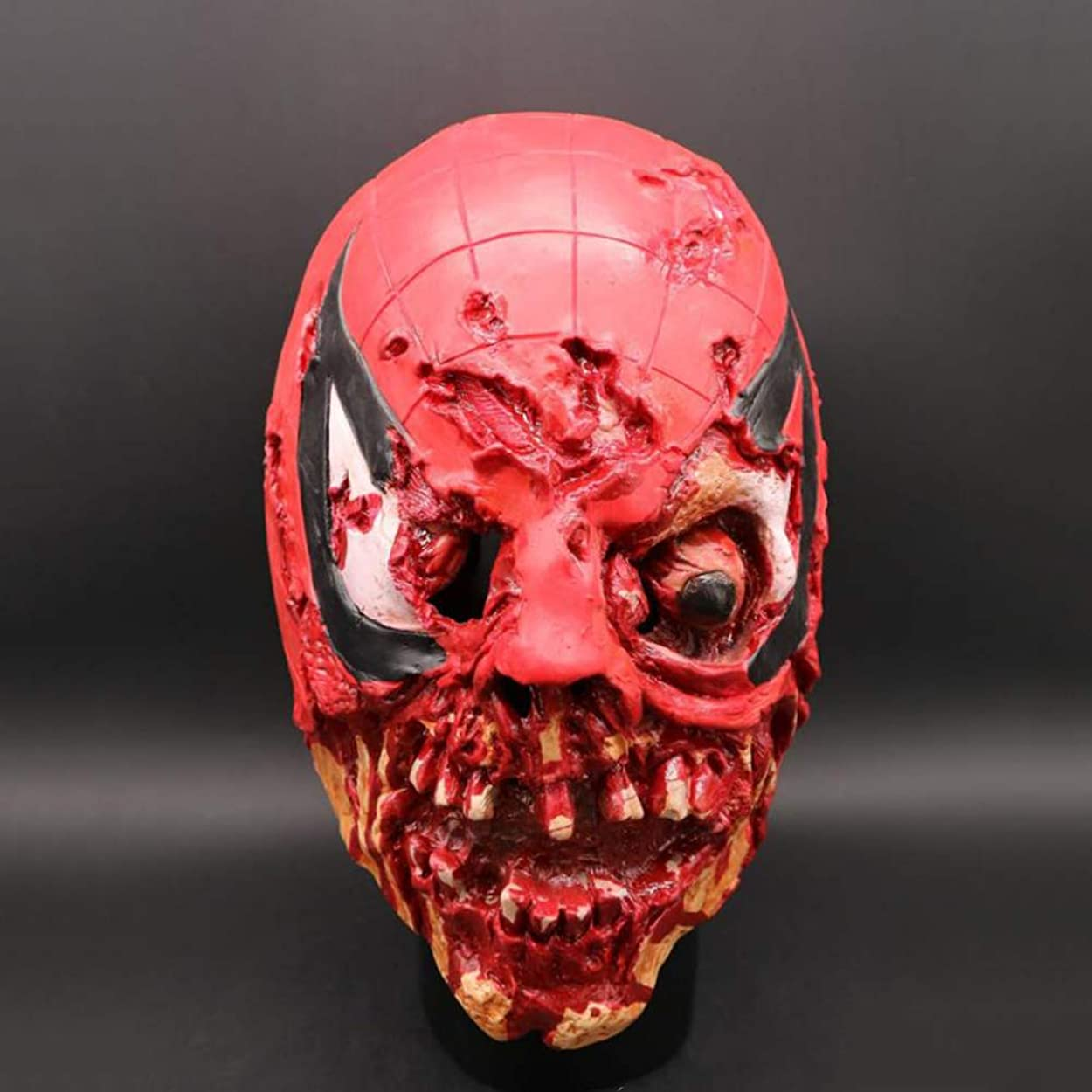 苦しむ航空機ダムハロウィーンホラーマスク、スカルプラズマフードマスク、V クリエイティブ面白いヘッドマスク、ラテックス Vizard マスク、コスチュームプロップトカゲマスク