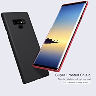 Nillkin NT9-NL-SF-B Cover Super Frosted Hard Phone Case With Stand For Samsung Galaxy Note 9 - Black