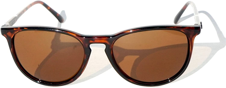 DANG Shades Fenton Retro Tortoise with Polarized Amber Lens Sunglasses