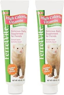 8 in 1 Ferretvite High Calorie Vitamin Supplement, 4.25 oz /2 Pack