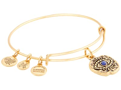 Alex and Ani Evil Eye Molten Coin Bangle Bracelet (Rafaelian Gold) Bracelet