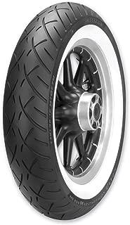 Metzeler ME888 Marathon Ultra Front Motorcycle Tire MT90B-16 (72H) Wide White Wall for Harley-Davidson Softail Slim FLS (ABS) 2012-2017