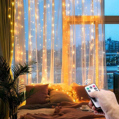 Fairy String Lights32Ft 100 LED Mini String Lights Copper Wire Firefly Starry String Lights for Wedding Indoor Outdoor Christmas Patio Garden DecorationWarm