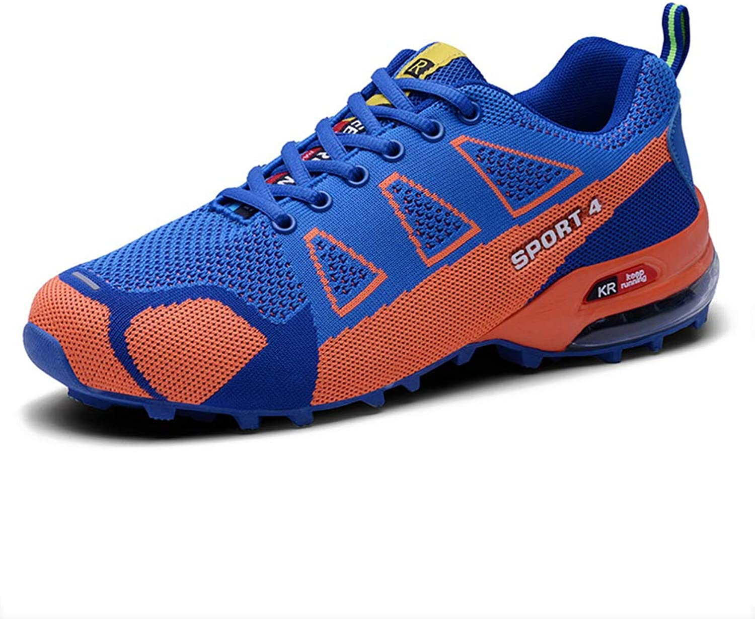 SELCNG Hiking shoes Non-Slip Ultra Light Outdoor Walking shoes Breathable Sports Climbing shoes-bluee-42