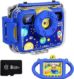 Ourlife Cámara para niños, cámara de acción impermeable
